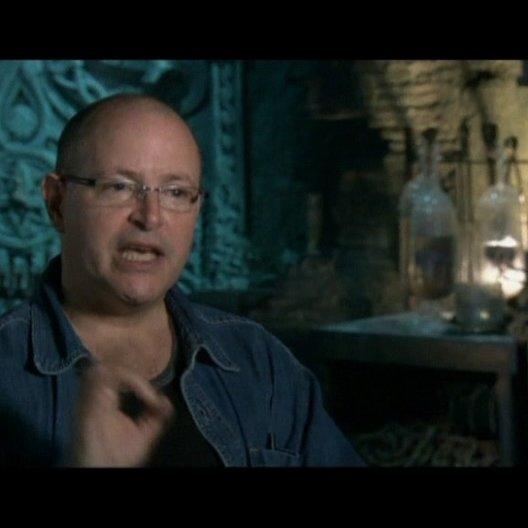 Interview mit dem Autor des Comics Mike Mignola - OV-Interview Poster