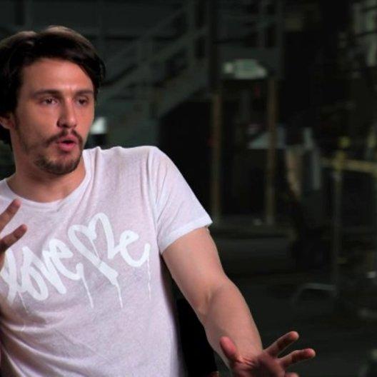 James Franco über die Tonart des Films - OV-Interview