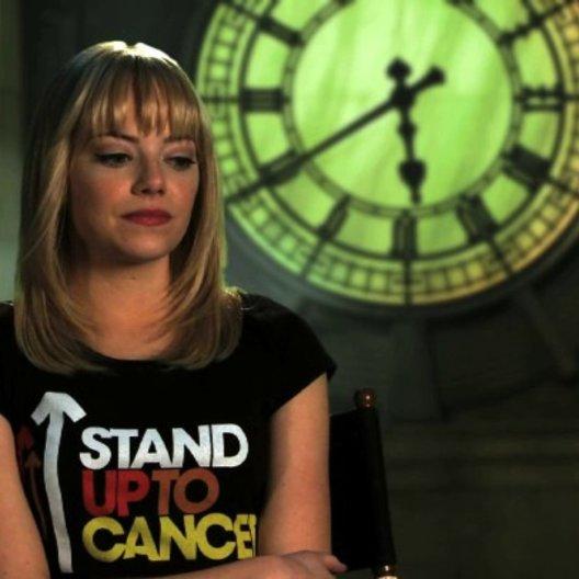 Emma Stone über Gwens Vater - OV-Interview