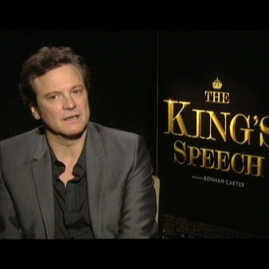 Colin Firth (King George VI) über Queen Mum und die Beziehung zu King George VI - OV-Interview Poster