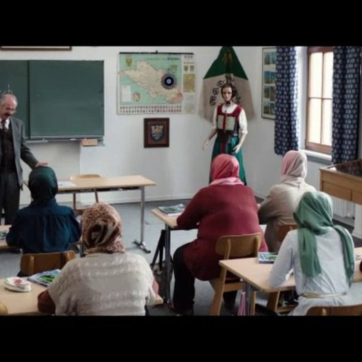 Hodscha unterrichtet Deutsch - Szene Poster