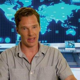 Benedict Cumberbatch über die Stimme - OV-Interview