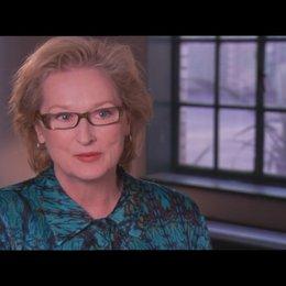 MERYL STREEP über Margaret Thatchers Fähigkeit, als Frau mit einer Machtposition zurecht zu kommen - OV-Interview