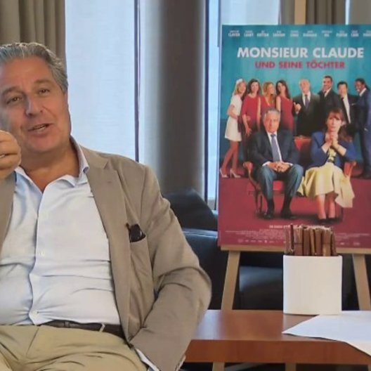 Christian Clavier (Claude Verneuil) (2) - OV-Interview Poster