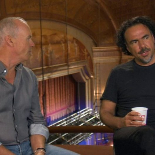 Alejandro González Inárritu & Michael Keaton (Regisseur & Schauspieler) darüber, was Birdman in Ihren Leben bewegt hat - OV-Interview