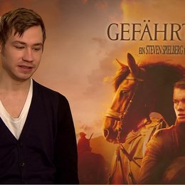 David Kross (Gunther) über das Reiten - Interview