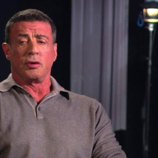 Sylvester Stallone - Drehbuch, Produzent - über Jason Statham - OV-Interview
