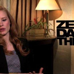 Jessica Chastain über das Ende der Dreharbeiten - OV-Interview Poster
