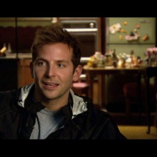 Interview mit Bradley Cooper (Peter) - OV-Interview Poster