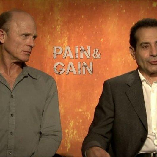 Ed Harris und Anthony Shalhoub - Ed DuBois und Victor Kershaw - darüber dass der Film auf eine wahre Begebenheit beruht - OV-Interview Poster