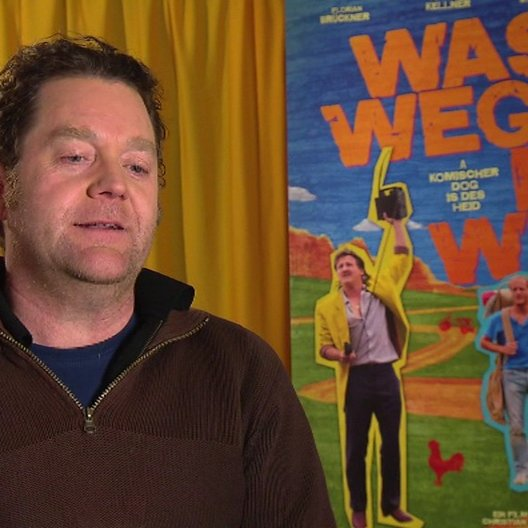 Jürgen Tonkel (Franz Much) über den Hansi oder Was Weg Is Is Weg - Interview Poster