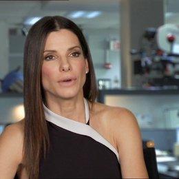 Sandra Bullock -Ashburn - über das Improvisieren im Film - OV-Interview