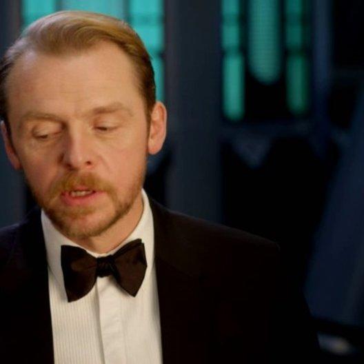 Simon Pegg (Benji Dunn) über Jeremy Renner und Ving Rhames - OV-Interview