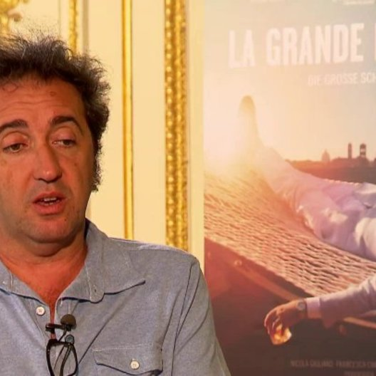 Paolo Sorrentino über Jep - OV-Interview Poster