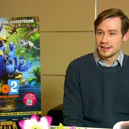 David Kross - Blu - über die Story - Interview Poster
