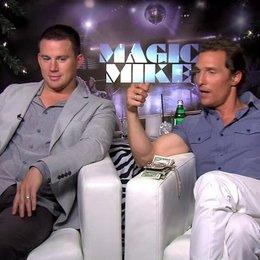Channing Tatum und Matthew Mc Conaughey Teil 1 - OV-Interview