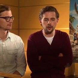 Joko & Klaas (Black Bellamy & Holzbein Hastings) Warum die Zuschauer den Film mögen werden - Interview