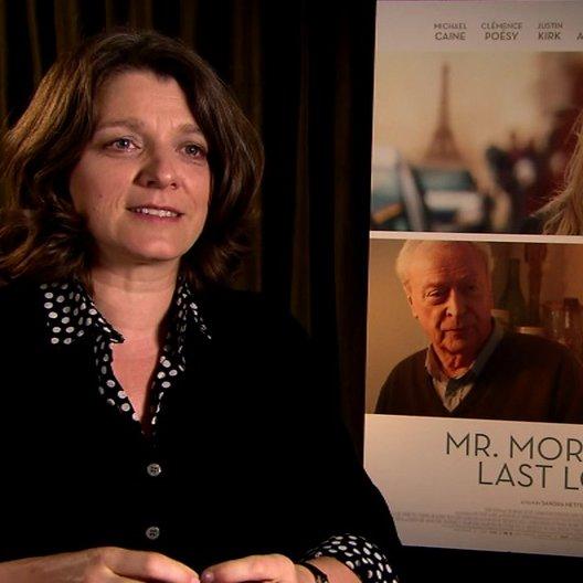 Sandra Nettelbeck - Regisseurin - über die Besetzung Michael Caine - OV-Interview Poster
