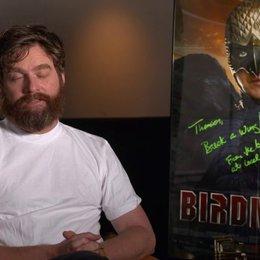 Zach Galifianakis  - Jake - über die Geschichte in Birdman - OV-Interview