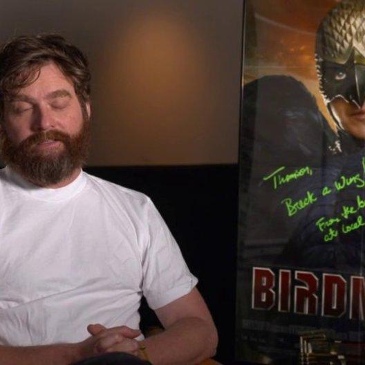 Zach Galifianakis  - Jake - über die Geschichte in Birdman - OV-Interview Poster
