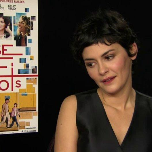 Audrey Tautou - Martine - über die Rolle der Martine - OV-Interview