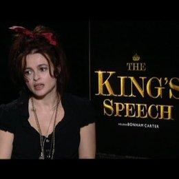 Helena Bonham Carter (Queen Mum) über die Beziehung zwischen Queen Mum und King George VI - OV-Interview Poster
