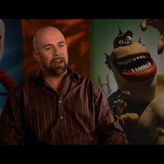 Conrad Vernon / über die Monster Clique - OV-Interview