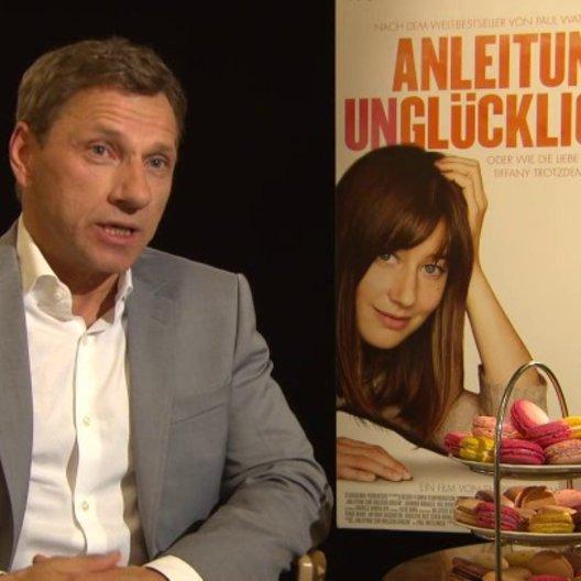 Richy Müller - Hans Luboschinski - über Hans Luboschinski - Interview Poster