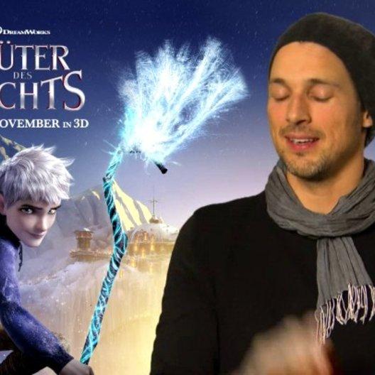 FLORIAN DAVID FITZ - Jack Frost - über Jack Frosts Beziehung zu den Huetern des Lichts - Interview