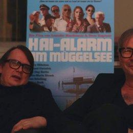 Leander Haußmann und Sven Regener (Regie) über 2 Regisseure ein Film - Interview Poster