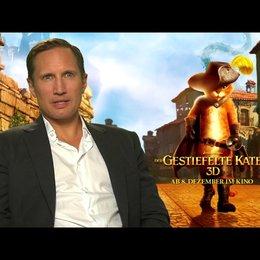 Benno Fürmann - DER GESTIEFELTE KATER - darüber, dass es einen eigenen Film über den GESTIEFELTEN KATER gibt - Interview