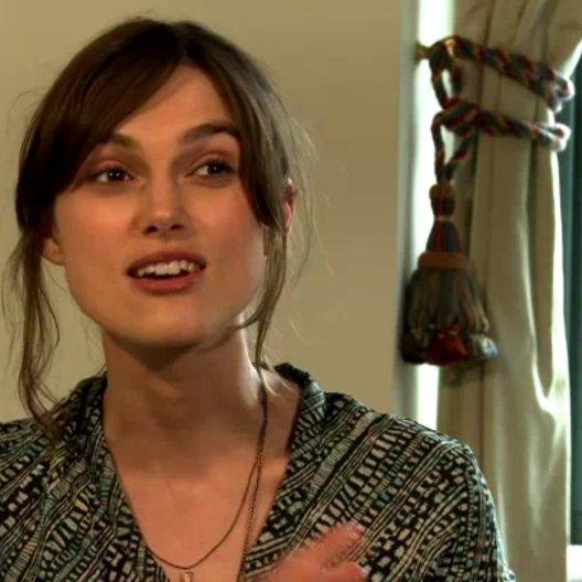 Keira Knightley - Gretta - über die positive Botschaft des Films - OV-Interview Poster