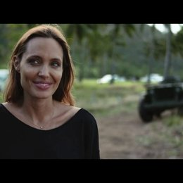 Angelina Jolie über Jack O Connell - OV-Interview