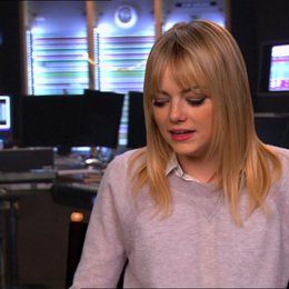 Emma Stone (Eep) über Guy - OV-Interview