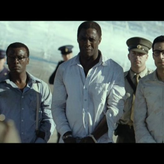 Ankunft auf Robben Island - Szene