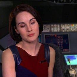 Michelle Dockery - Nancy - über die Spannung im Film - OV-Interview