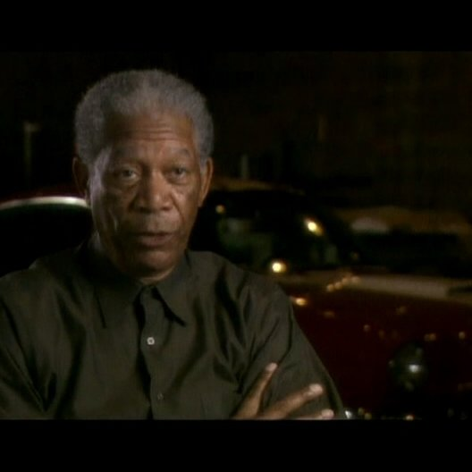 Interview mit Morgan Freeman ( Carter ) - OV-Interview