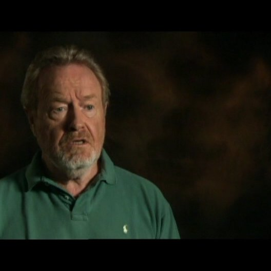 Interview mit Regisseur und Produzent Ridley Scott - OV-Interview