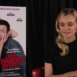 Diane Kruger über Dany Boon - Interview Poster