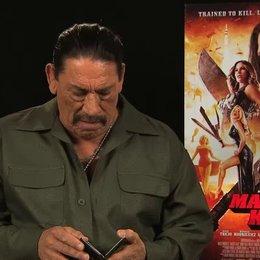Danny Trejo über Michelle Rodriguez - OV-Interview Poster