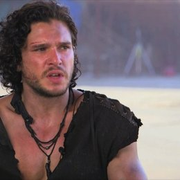 Kit Harington - Milo - über den Reiz seiner Rolle, das Training, den Film - OV-Interview
