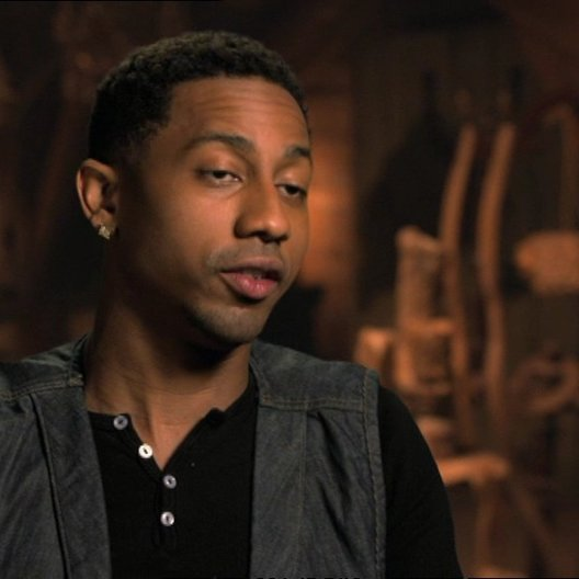 Brandon T. Jackson - Grover  über seine Erfahrung den Film zu machen - OV-Interview Poster
