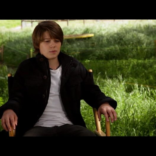 Colin Ford - Dylan Mee - über seine Rolle - OV-Interview