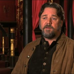 Russell Crowe über die Prämisse des Films - OV-Interview