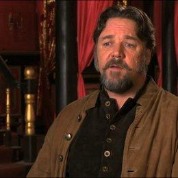 Russell Crowe über die Prämisse des Films - OV-Interview Poster