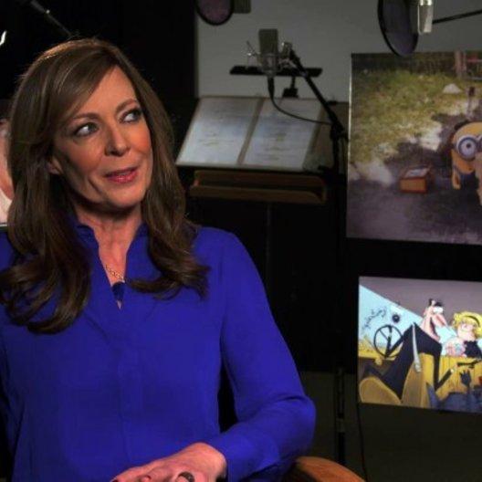 Allison Janney - Madge - über die Familie Nelson - OV-Interview