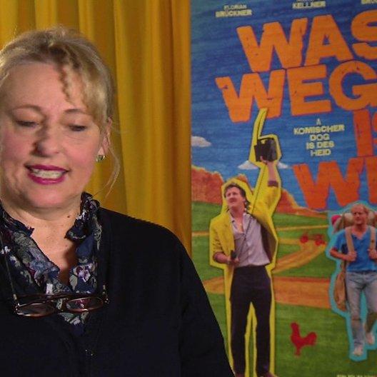 Johanna Bittenbinder (Erika Baumgarten) über die Zusammenarbeit mit ihrem Mann - Interview Poster