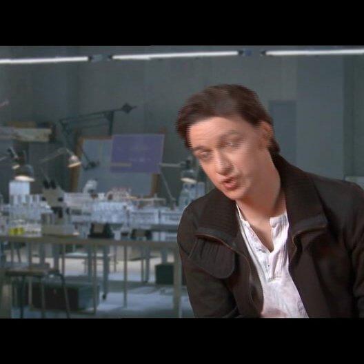James McAvoy über das Thema Isolation und Verbundenheit im Film - OV-Interview Poster
