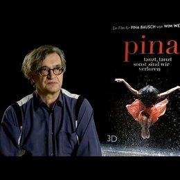 Wim Wenders (Regie) über Pinas Abwesenheit - Interview Poster