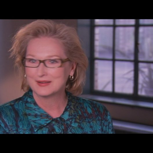 MERYL STREEP - Margaret Thatcher - über die Arbeit mit auschließlich männlichen Schauspielern am Set - OV-Interview